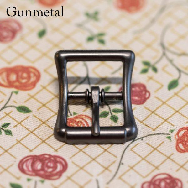 Gunmetal buckle