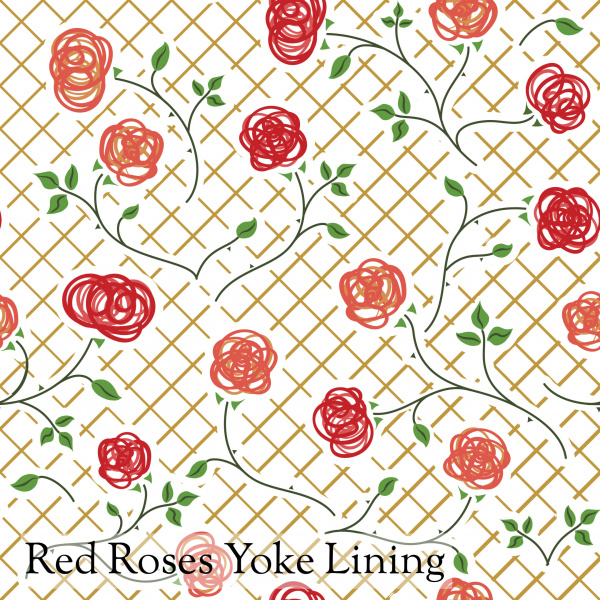 Red rose motif