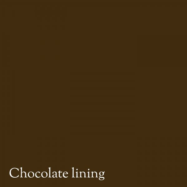 Chocolate colour lining