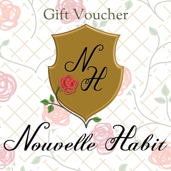 Nouvelle Habit Gift Vouchers
