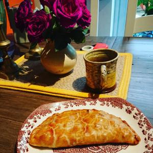 Homemade pasty