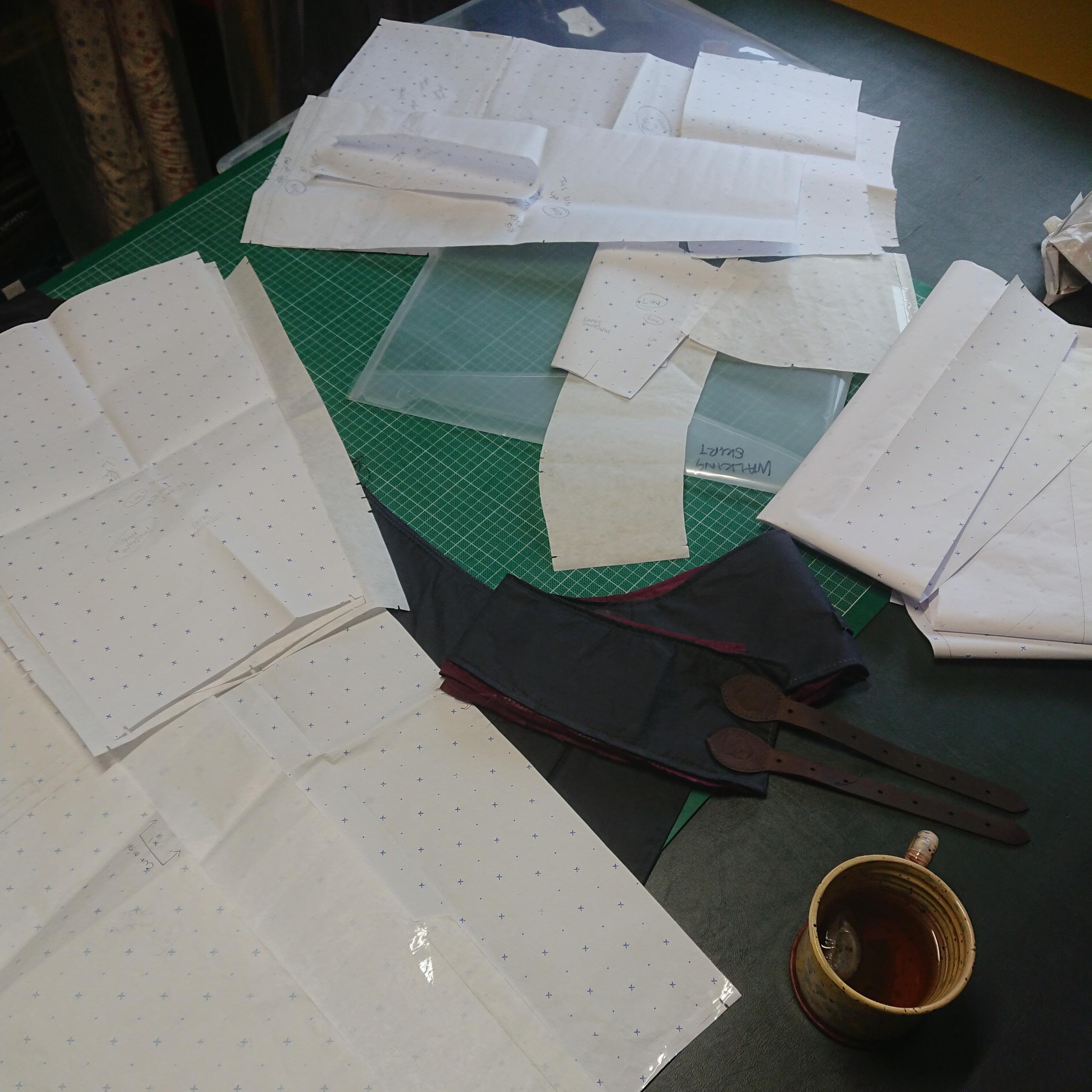 drafting patterns for walking skirt