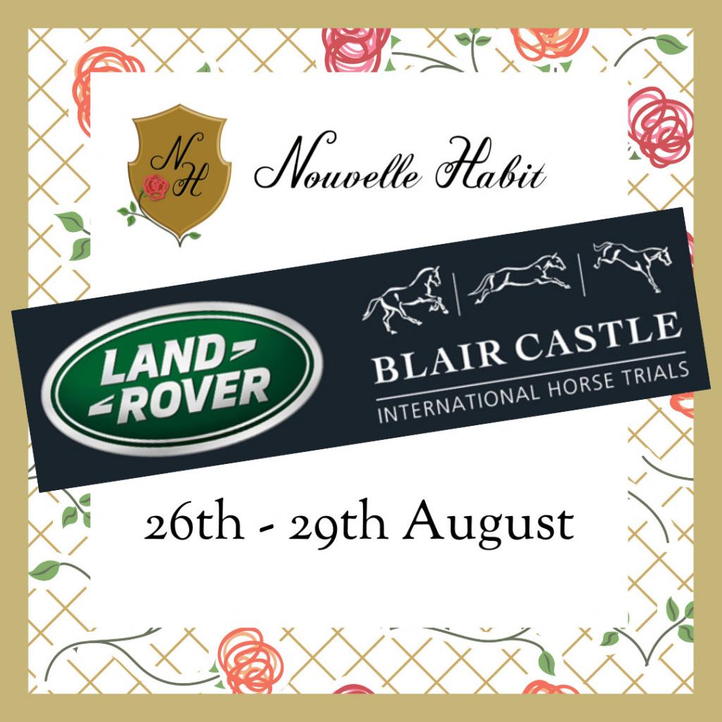 nouvelle habit at blair castle horse trials